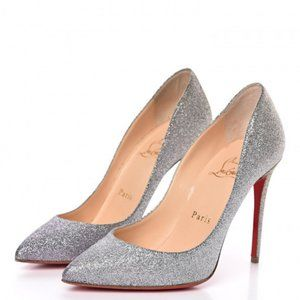 Christian Louboutin Degrade Glitter Pigalle Pumps
